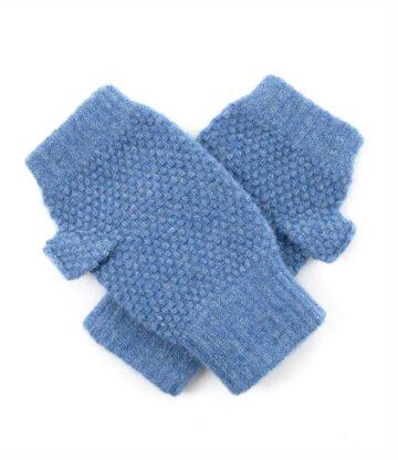 272de Cashmere Tuck Stitch Wristwarmer