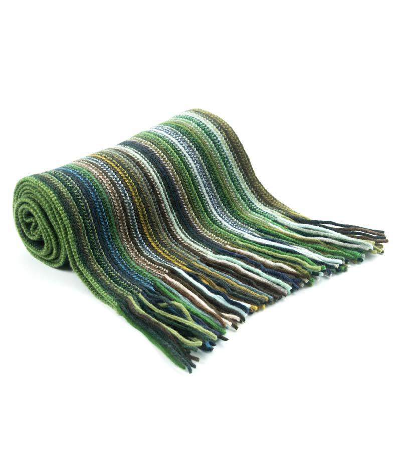 501gr Lambswool Stripe Scarf