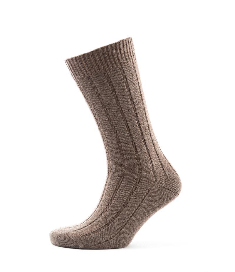 802mo Mens Rib Sock Mocha Fit