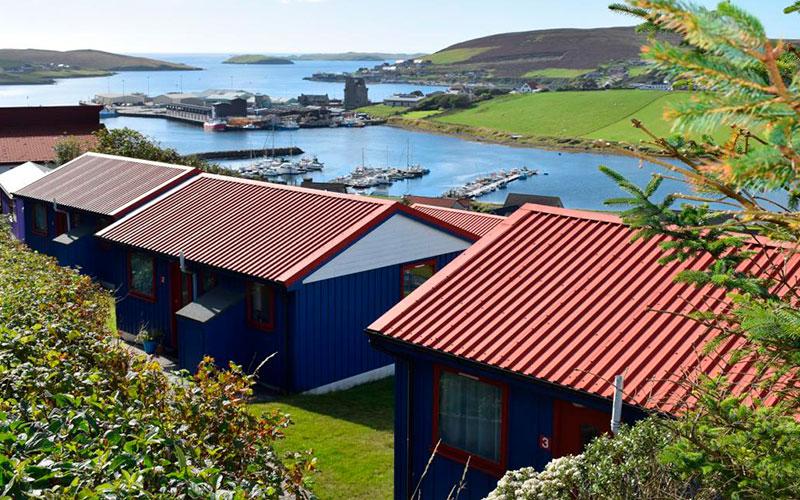 easterhoull chalets, shetland