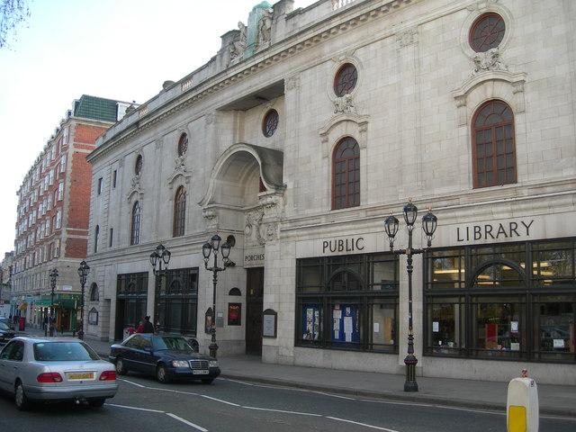 paddington library, porchester hall geograph.org.uk 363451