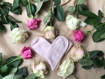 Valentines Day Cashmere Socks
