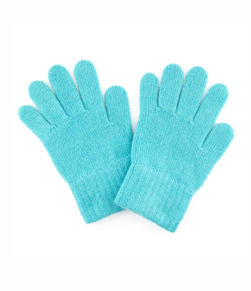128az cahsmere plain gloves