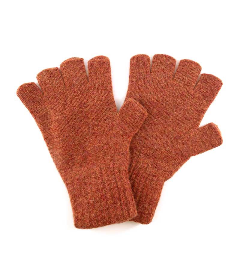 511em lambswool fingerless gloves