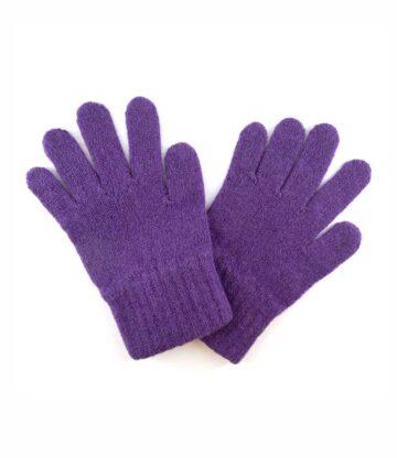523pu lambswool plain gloves