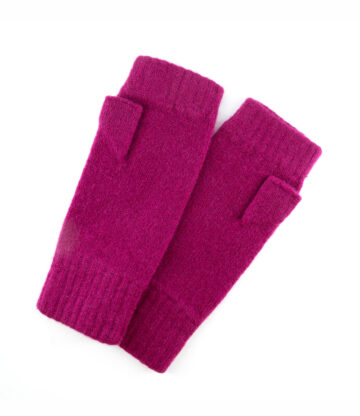 514ma lambswool fingerless mitts with thumb