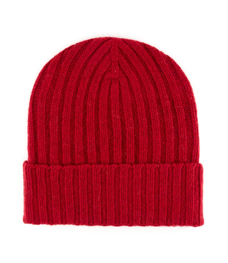 531bar lambswool double rib beanie hat