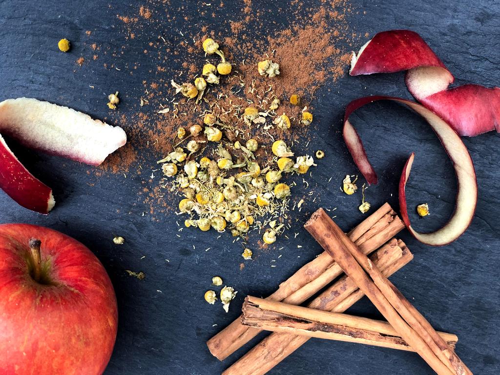 apple cinnamon chamomile herbaltea
