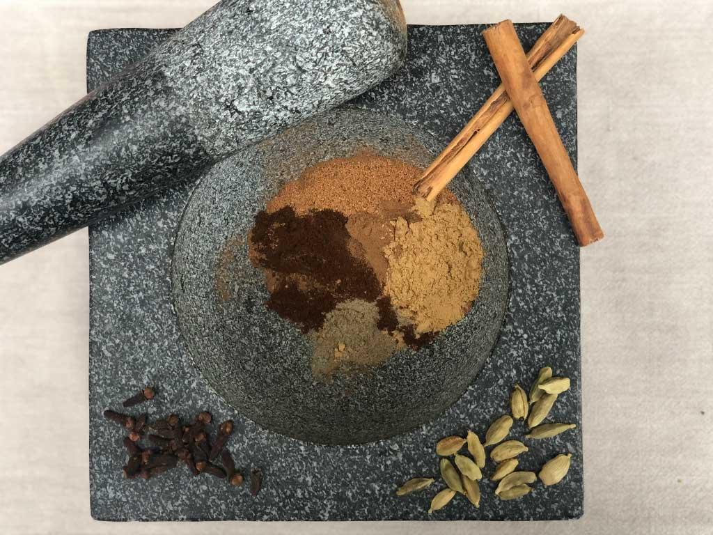 chai spiced hotchocolate
