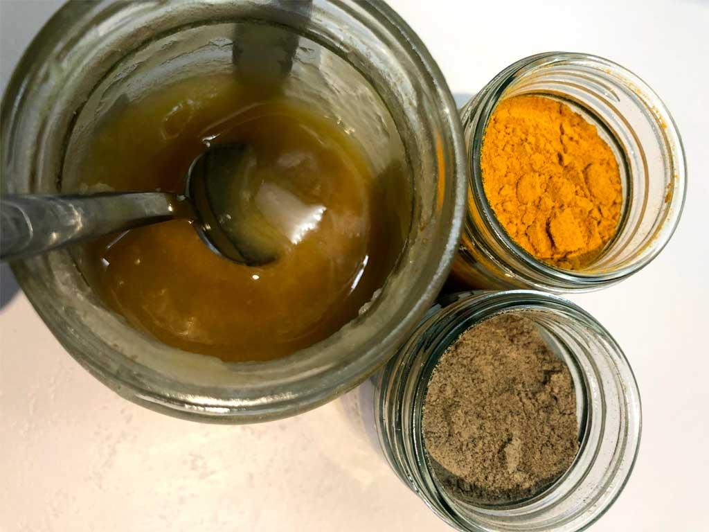 golden turmeric milk ingredients